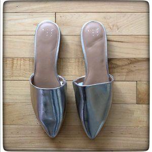 A New Day Slip on Sliver Shoe
